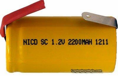 công nghệ pin Ni-Cad (Nickel Cadmium).