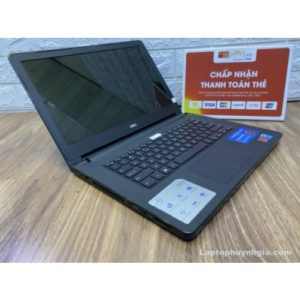 Laptop Dell N5458 - I5 5200u| Ram 8G| HDD 1T| Intel HD 5500| LCD 14