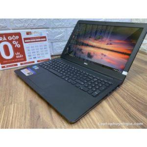 Laptop Dell N5542 -I3 4005u| Ram 4G| SSD 256G| Intel HD| Pin 2h| LCD 15.6