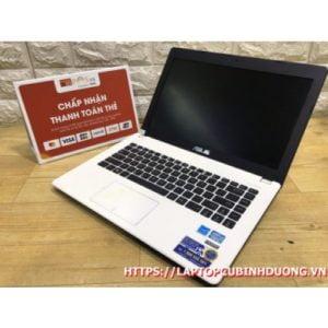 Laptop Asus X452 -I3 3217u| Ram 4G| HDD 500G| Intel HD 4000| Pin 2h| LCD 14