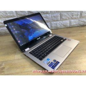 Laptop Asus TP301- I3 6100u  Ram 4G  SSD 128G Intel HD 520 LCD 13.3