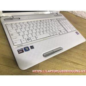 Laptop Toshiba L750 -AMD A6| Ram 4G| SSD 128G| AMD HD 6520m | LCD 15.6