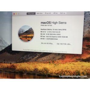 Macbook Retina - I5 1.2ghz | Ram 8G| M2 512G| Intel HD 5300| LCD 12.5 | Full Box