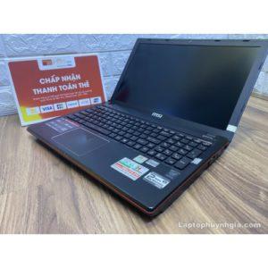 Laptop MSI GE60 -I5 4200H| Ram 8G| SSD 128G| HDD 1T| Nvidia GTX850m| LCD 15.6 FHD