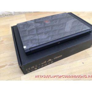 Laptop MSI GF63 -I7 9750H  Ram 8G  M2 512G  Nvidia GTX1050TI  LCD 15.6 FHD IPS