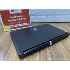 MSI GL63 -I7 8750HQ  Ram 8G  M2 128G  HDD 1T  Nvidia GTX1050  LCD 15.6 FHD IPS