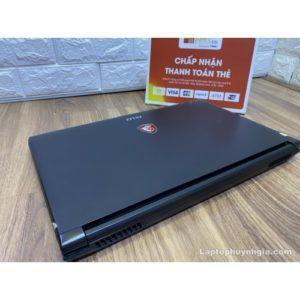 Laptop MSI GL62 -I7 7700HQ  Ram 8G  M.2 128G  HDD 1T  Nvidia GTX1050  LCD 15.6 IPS FHD